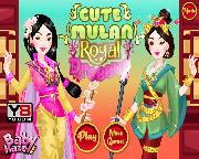 Cute Mulan Royal Dressup