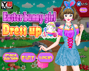 Easter Bunny Girl Dress Up