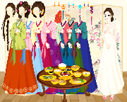 Korean Hanbok Dressup